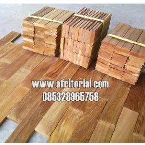 Parquet Flooring Lantai Kayu Jati Jepara Harga Murah
