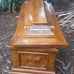 Peti Mati Kayu Jati Ukir Jepara Murah Bisa Untuk Jenazah Covid19