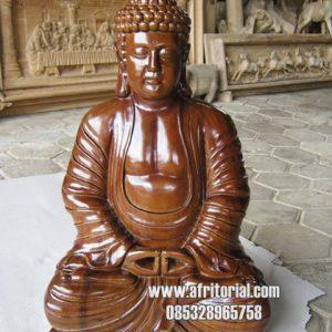 Budha Julai Patung Kayu Jati Jepara Ideas Klenteng