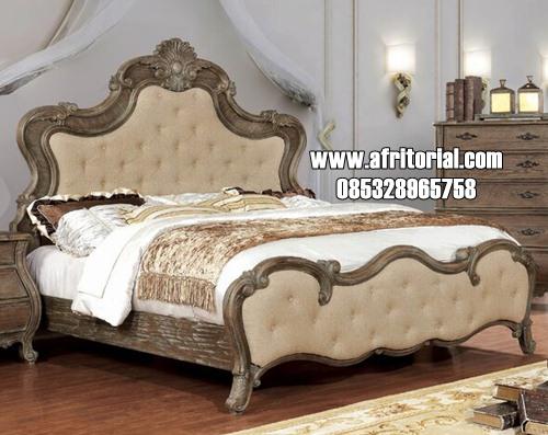 Dipan Set Kamar Tidur Klasik Standard Jepara