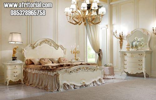 Tempat Tidur Anak Dewasa Model Ukir Klasik Modern