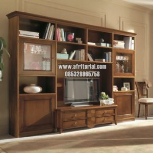 Bufet Tv Jati Minimalis Modern Terbaru Mebel Jepara